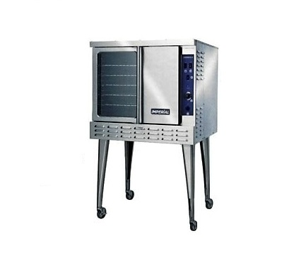 Convection oven single deck gas