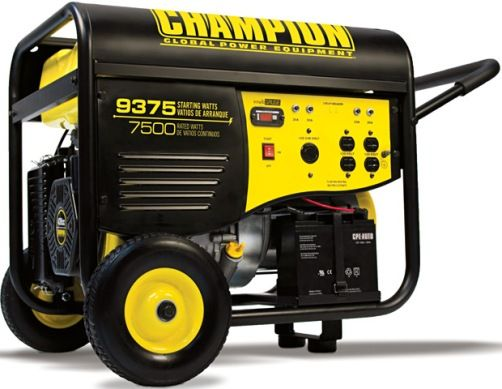 Champion Power Equipment 7500/ 9375-Watt Generator Electric Star