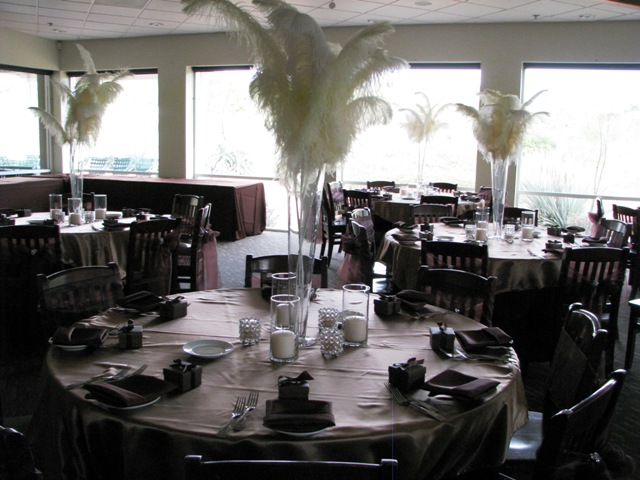 Feathers Centerpieces FCP-98