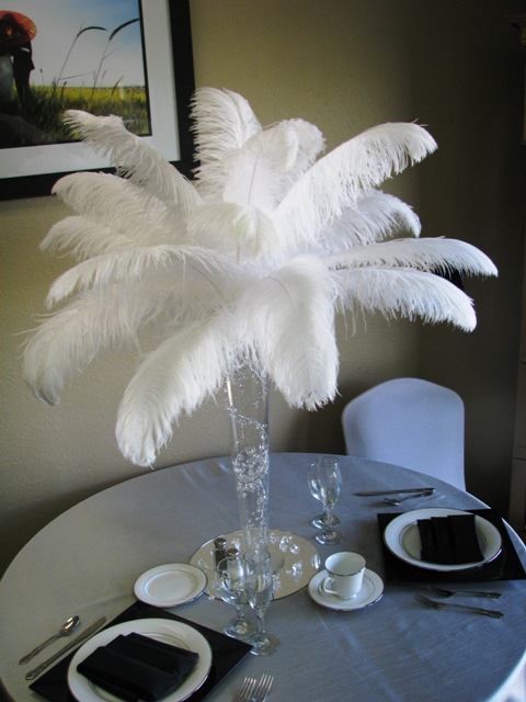 Feathers Centerpieces FCP-49