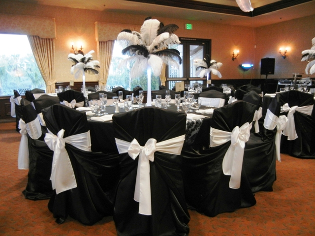 Feathers Centerpieces FCP-55