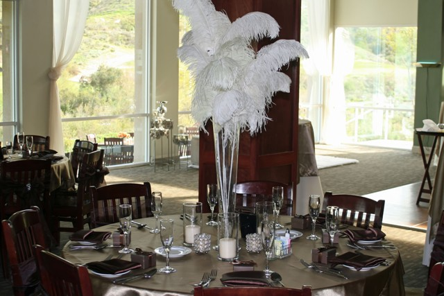 Feathers Centerpieces FCP-85
