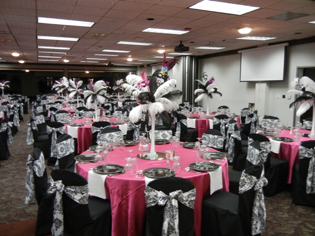 Feathers Centerpieces FCP-87
