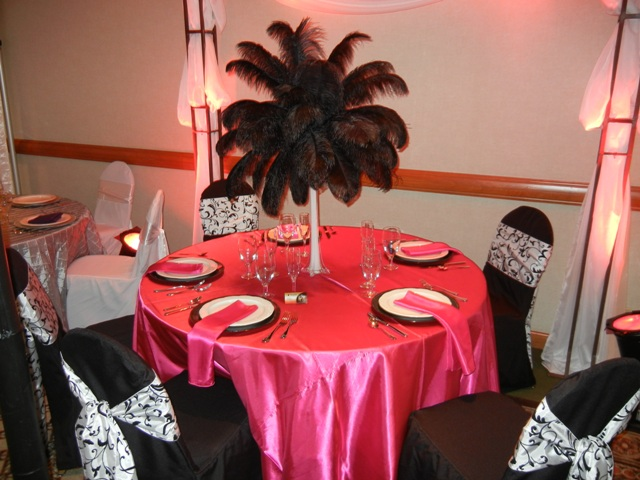 Feathers Centerpieces FCP-90