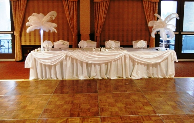 Feathers Centerpieces FCP-96