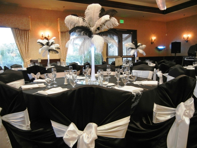 Feathers Centerpieces FCP-97