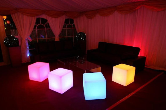 LED Cube 16 Inches