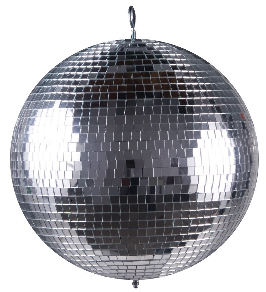 Disco ball 20-Inch with electric powered motor