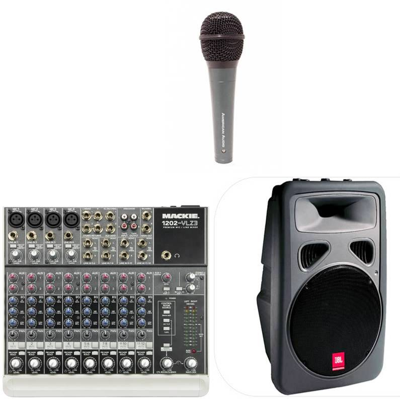 PA System Package #2