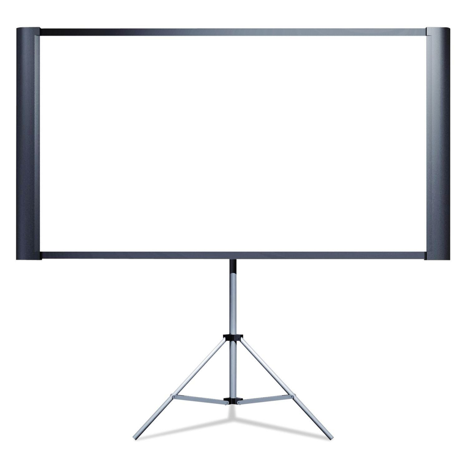 "Portable Projection Screen - 80"" Widescreen"