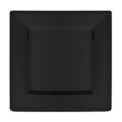 Square Black Charger Plate