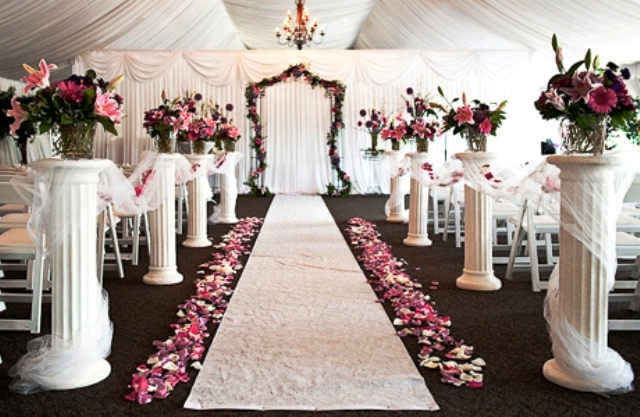 Columns decorated for a wedding choice image wedding decoration ideas decorating with columns yahoo search results daddy daughter wedding columns junglespirit Image collections
